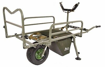Prestige Carp Porter *NEW MODEL* MK2 Fatboy Fishing Barrow + FREE Accessories