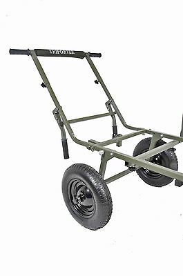 Prestige Carp Porter NEW Deluxe Triporter Barrow Wheels & Handle Kit System