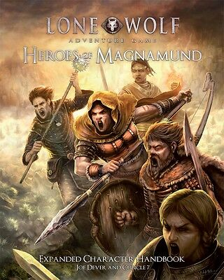 Heroes of Magnamund - Lone Wolf Adventure Game- Roleplaying Sourcebook