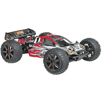 NEW HPI Racing 1/8 Trophy 4.6 Truggy Nitro RTR 107014