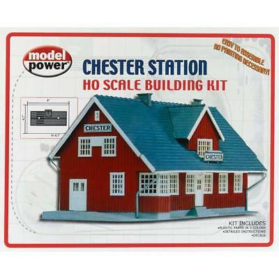 NEW Model Power Chester Station Kit HO 454