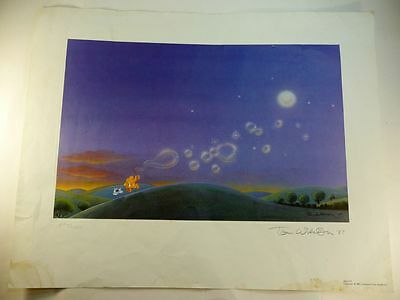 Ziggy print signed and numbered by Tom Wilson '87 Bubbles under the Moon