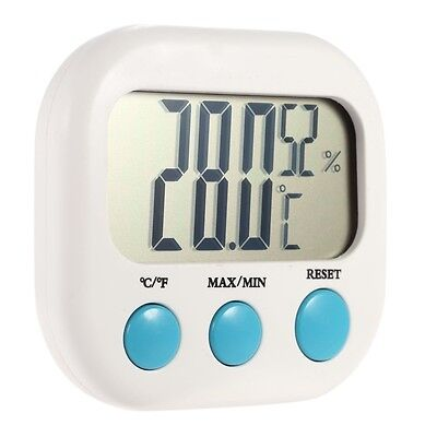 Digital LCD Temperature Sensor Humidity Meter Thermometer Hygrometer Indoor