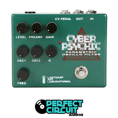 LastGasp Last Gasp Cyber Psychic Oscillo Filter EFFECTS DEMO - PERFECT CIRCUIT