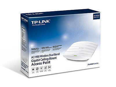 TP-Link AC1900 Wireless Dual Band Gigabit Ceiling Mount Access Point (EAP330)