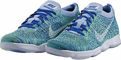 698616-403 NEW Nike Flyknit Women's Zoom Agility
