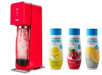 Sparkling Water Maker SodaStream Fizzy Co2 Refillable Carbonated Beverage LED