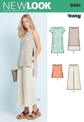 Simplicity New Look Sewing Pattern – Dress Tunic Top and Cropped Pants – 6461