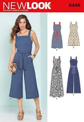 Simplicity New Look Sewing Pattern - Jumpsuits and Dresses - 6446