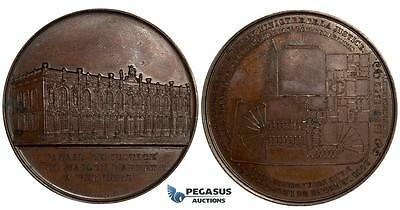 ZL39, Belgium, Bronze Medal 1852 by Wiener, Verviers Palace of Justice