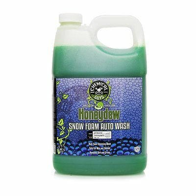 Chemical Guys CWS_110 Honeydew Snow Foam Car Wash Soap and Cleanser (1 Gal) NEW