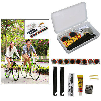 Cycling Bicycle Tire Tyre Puncture Repair Tool Kit Bike Glueless Patch Tyre Tube
