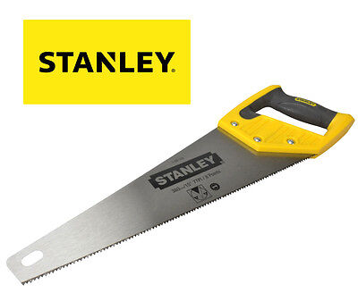 "STANLEY 15"" 380mm TOOLBOX 7TPI Cut Hardpoint Wood Cutting Hand Saw STA120119"
