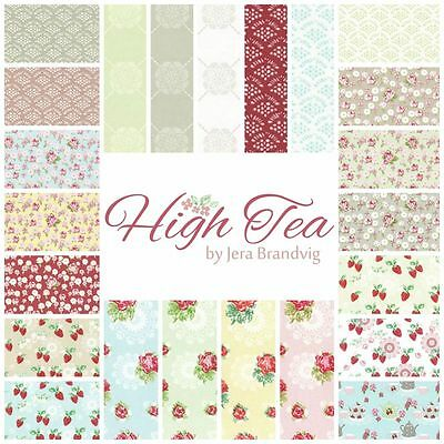 Patchwork/quilting Fabric Lecien Fabrics Charm Squares/packs - High Tea