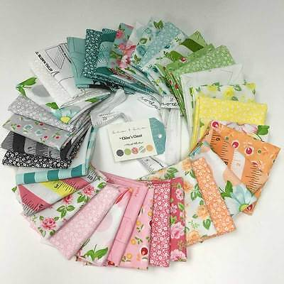 "Patchwork/quilting Fabric Layer Cake Moda 40 X 10"" X 10"" Sew And Sew"