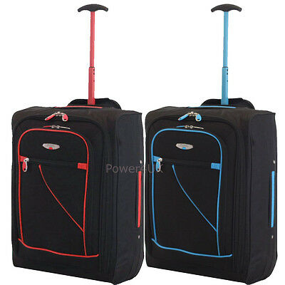 Cabin Bag Travel Hand Luggage Suitcase Trolley 53*35*20cm
