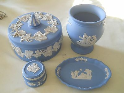 Wedgwood Jasperware Assortment Lot