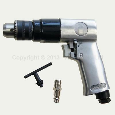 """212512 10MM 3/8"""" Car Body Reversible Air Drill With Keyed Drill Chuck Air Tools"""
