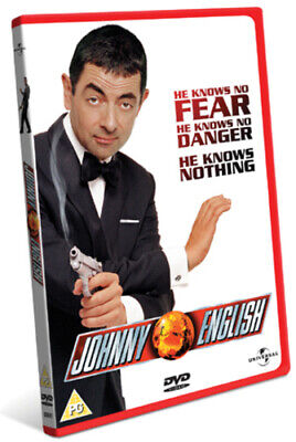 Johnny English DVD (2010) Rowan Atkinson