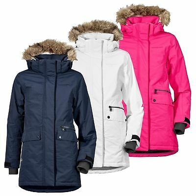 9cb49a5b48ca DIDRIKSONS KURE KIDS Girls Parka Winter Jacket Coat - Warm Cerise ...