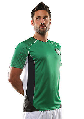 Official Celtic FC Merchandise. Adults Green Football T-Shirt/Top - OF800