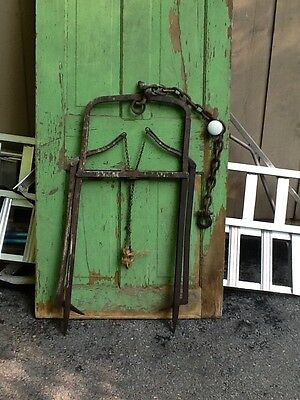 Vintage Hayfork and Trolley from Barn