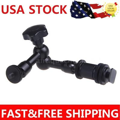 "7"" Inch Friction Articulating Magic Arm Camera Monitor LCD Light Hot Shoe Mount"