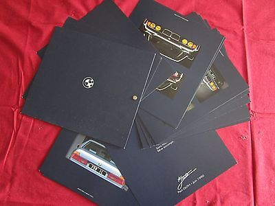 N°2060 /  BMW coupé 850 i et berline 750 i , 13.09.1990 / catalogue a vis FRANCE