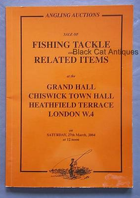Orig 2004 Angling Auctions Fishing Tackle & Related items London England Book