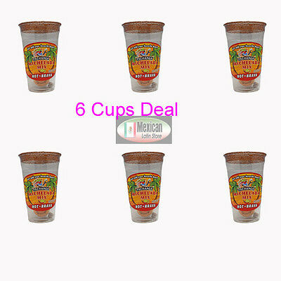 6X Michelada Mix Hot-Brava Cup  Just add your favorite Drink 6-cup deal
