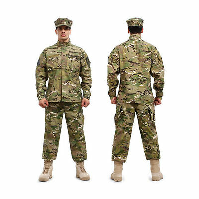 Painball Military Combat Camo Camouflage Suit Airsoft Uniform Sets-Jacket Pant