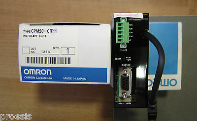 OMRON CPM2C-CIF11 interface unit RS422 RS232C