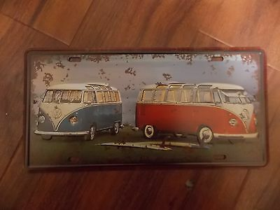 Volks Wagon Combi 1  Novelty  Number Plate 30 Cm By 15 Cm