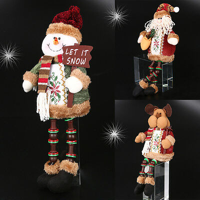 Santa Claus Snowman Reindeer Doll Toy Christmas Tree Decoration Hanging Ornament