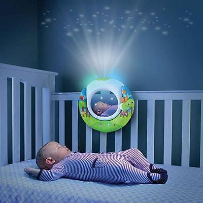 Munchkin Cot Soother Musical Projector Nightlight Timer LED Magic Firefly