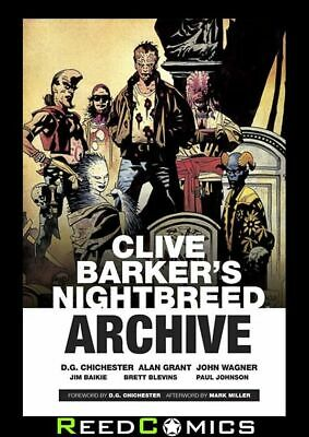 CLIVE BARKERS NIGHTBREED ARCHIVE HARDCOVER New Hardback Collects Complete Series