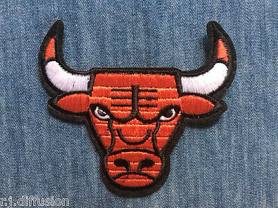 ECUSSON PATCH BRODE thermocollant - TAUREAU RED BULL