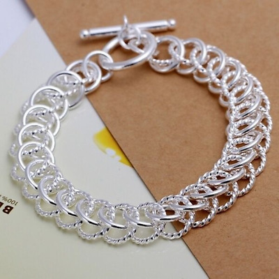 New Charms 925 silver charm trend women simple cute Bracelet Jewelry nice chain