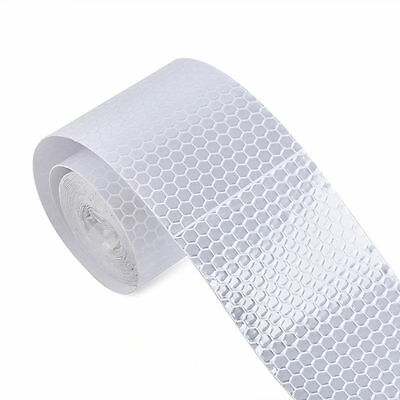 3M Reflective Safety  Silver White Warning Conspicuity Tape Sticker YH