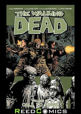 THE WALKING DEAD VOLUME 26 CALL TO ARMS GRAPHIC NOVEL Collects Issues #151-156