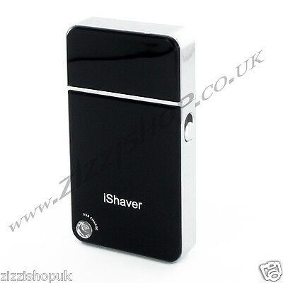 Cordless Dry iShaver Mini Travel Shaver USB Rechargeable Trimmer Ideal Gift