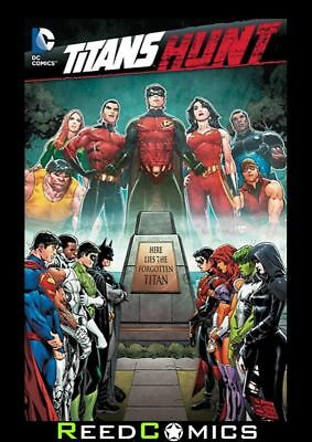 TITANS HUNT GRAPHIC NOVEL (256 Pages) Paperback Collects 8 Part Series + more