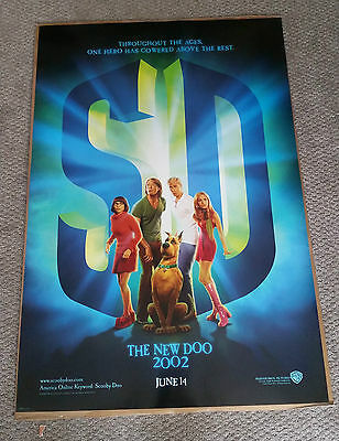 Scooby Doo (2002) Original One Sheet Movie Poster 27x40 Shaggy