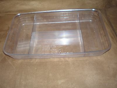 Longaberger Small Serving Tray Cheese & Crackers Divided Protector