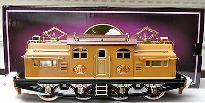 Std Gauge-MTH 10-1132-0 408E Two-Tone Brown Electric Loco Tinplate Traditional
