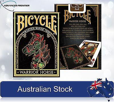 Warrior Horse BICYCLE Poker Playing Cards deck Brand New