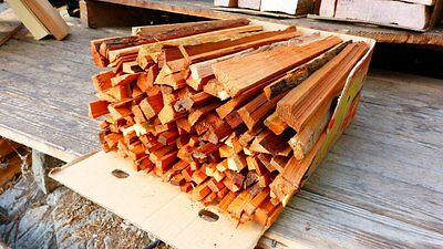 Handsplit Cedar Kindling - Premium Quality - 24 inch - Salt & Pepper Mix