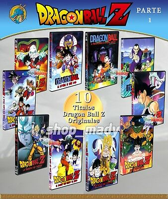 Paq. 10 Movies de Dragon Ball DVD en ESPAÑOL LATINO Region 4 (Parte 1)