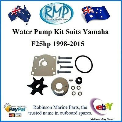 A Brand New Water Pump Kit Yamaha F25hp 4/Stroke 1998-2015 # R 61N-W0078 Nice