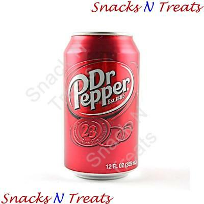 Dr Pepper Original Soft Drink USA 24 X 355ml Cans - Bulk Party Pack • AUD 59.95